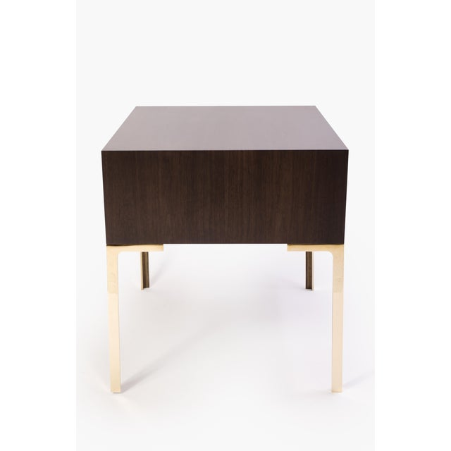 Astor Nightstands in Contrasting Ebony & Ivory by Montage - Pair - Image 5 of 11