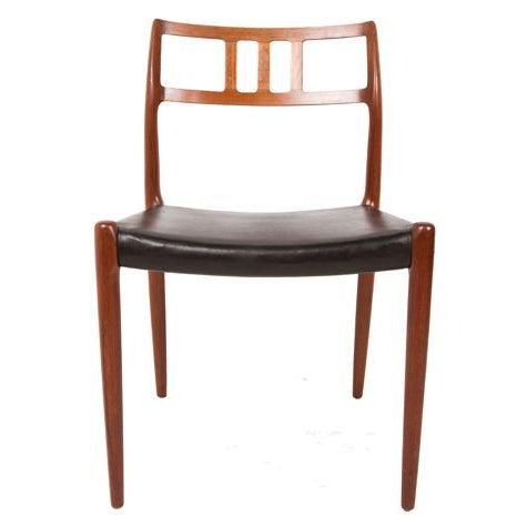 Niels Moller Danish Teak Dining Chairs Set Of 6 Chairish
