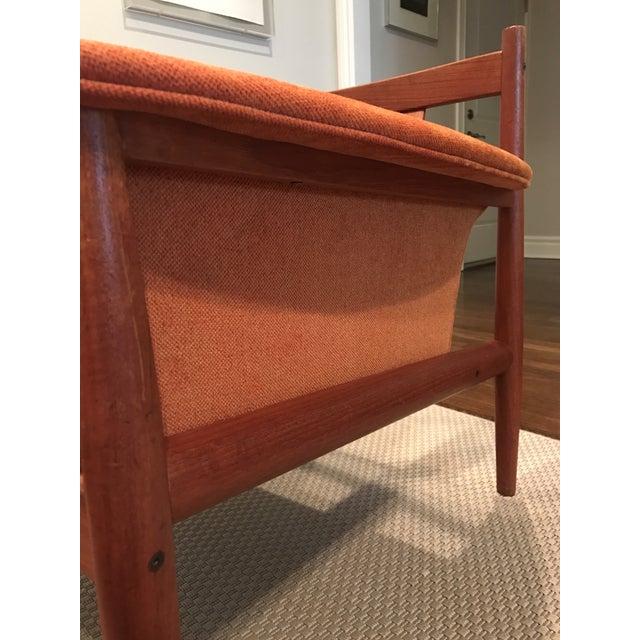 Grete Jalk Teak Sofa & Lounge Chair - A Pair - Image 9 of 9
