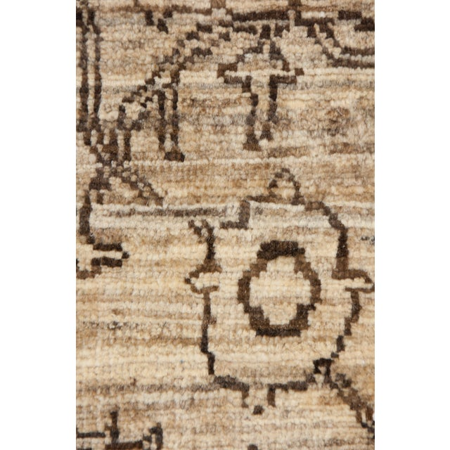 """Gabbeh Hand Knotted Area Rug - 6'7"""" X 9'9"""" - Image 3 of 3"""