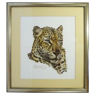 "Vintage ""Leopard"" Art Print by Guy Coheleach"