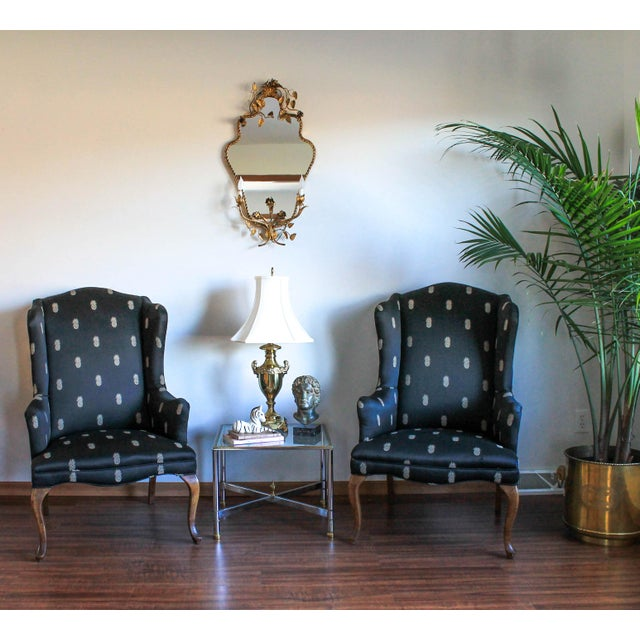 Vintage Wingback Chairs - A Pair - Image 11 of 11
