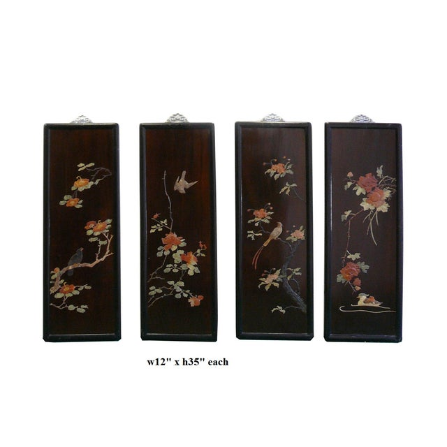Chinese Scenery Wall Panels - Set of 4 - Image 2 of 7