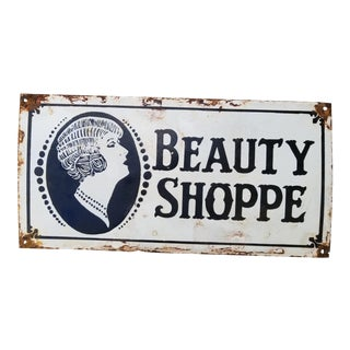 Old New Orelans Beauty Shoppe Sign