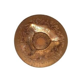 Dororthy Thorpe Vintage 24k Gold Platter
