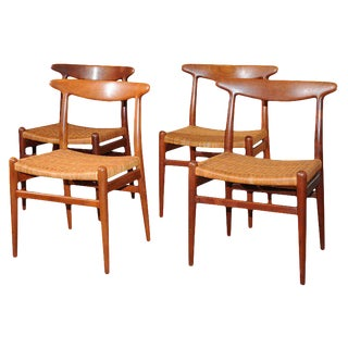 Hans Wegner Dining Chairs - Set of 4