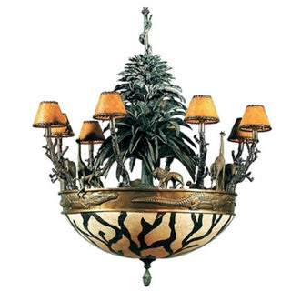 Maitland Smith African Chandelier