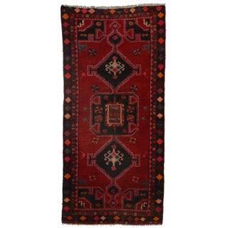 RugsInDallas Hand-Knotted Wool Persian Hamedan