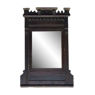 Eastlake Style Carved Vanity Mirror