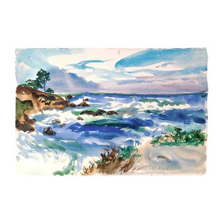 Pebble Beach Surf by Les Anderson