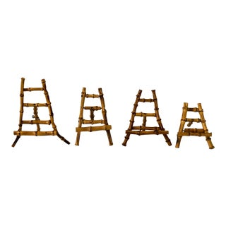 Bamboo Easels - Set of 4