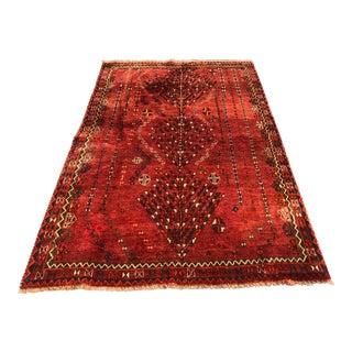 "Vintage Persian Gabbeh Rug - 4'6"" x 7'2"""