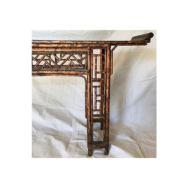 Early 19th Century Chinese Bamboo Altar Table - Image 5 of 7