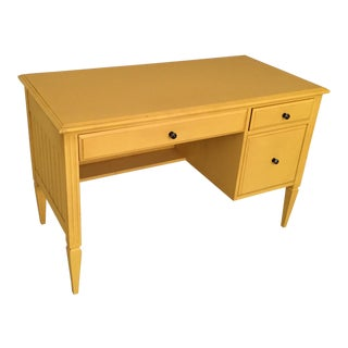 Ethan Ellen Yellow Desk