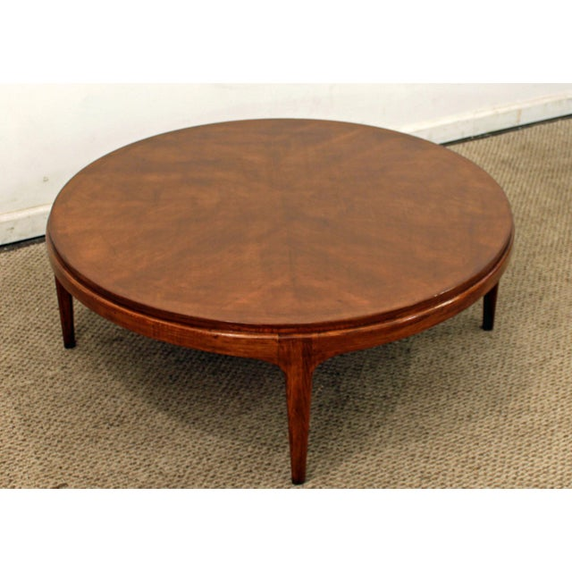 Lane Mid-Century Danish Walnut Coffee Table