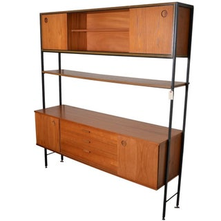 Freestanding Teak Wall Unit by Avalon