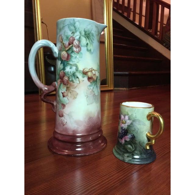 2 Piece Antique Rosenthal Bavaria Porcelain Set - Image 2 of 8
