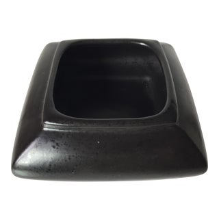 Vintage Haeger Onyx Ceramic Planter