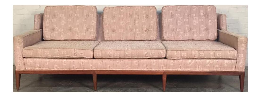 Hickory Chair Co. Mid Century Modern Sofa   Style Of McCobb