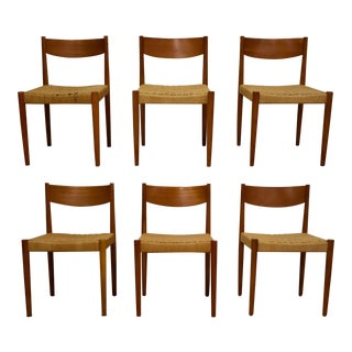 Poul Volther Teak Dining Chairs - Set of 6