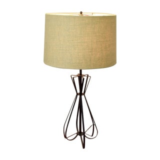 Mid-Century Hairpin Lamp