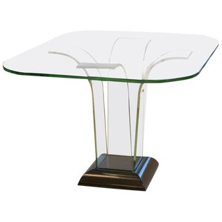 Modernage Glass Center Table