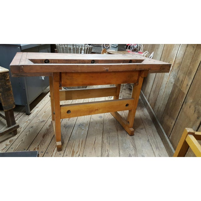 1945 Maple Wood Workbench - Image 3 of 4