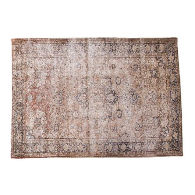 """Distressed Kaisary Carpet - 6'8"""" X 9'5"""" - Image 1 of 10"""