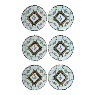 Chelsea Porcelain Dessert Plates, 18th Century - Set of 6