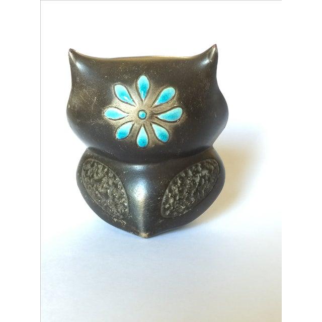 1960's Midcentury Ceramic Owl - Image 10 of 11