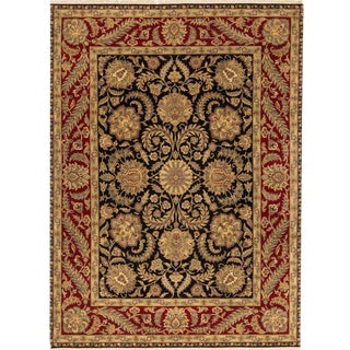 "Traditional Hand Woven Rug - 9'1"" X 12'3"""