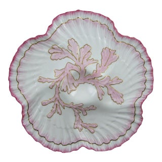 Brownfield English Staffordshire Shell Edge Oyster Plate