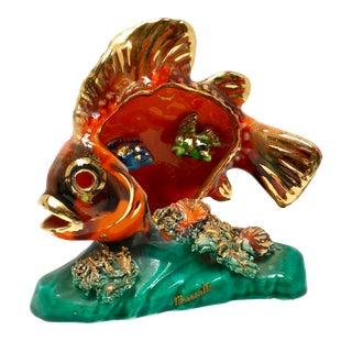 Mid-Century Fish Lamp