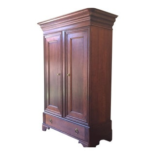 Baker Cherry Wood Armoire