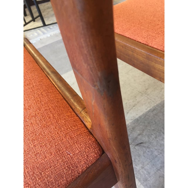 Mid-Century Teak Dining Chairs - Set of 4 - Image 5 of 8
