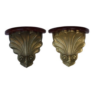 Brass Sconces - A Pair