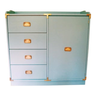 Campaign Style Diaper Changing Table Dresser Nursery