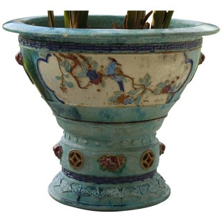 Large Ceramic Chinese Planter