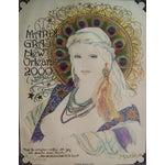 Image of Mousie 'Mardi Gras Eyes' Poster