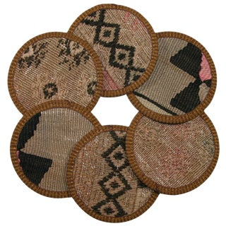 Kilim Coasters Set of 6 - Işıklı