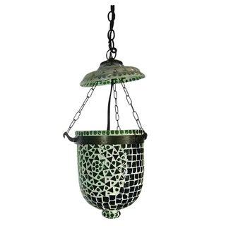 Mosaic Bucket Pendant Lantern