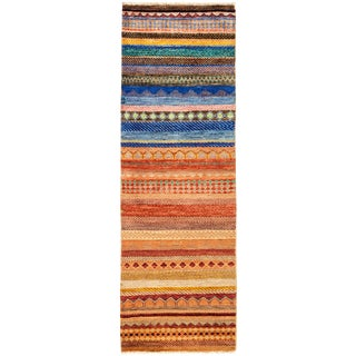 "Lori Hand Knotted Runner - 2'0"" X 6'1"""