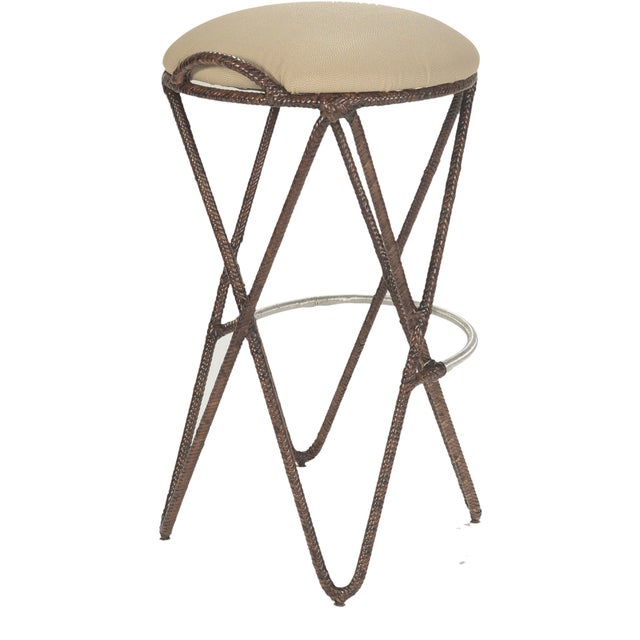 Image of David Francis Proton Bar Stools - Set of 3