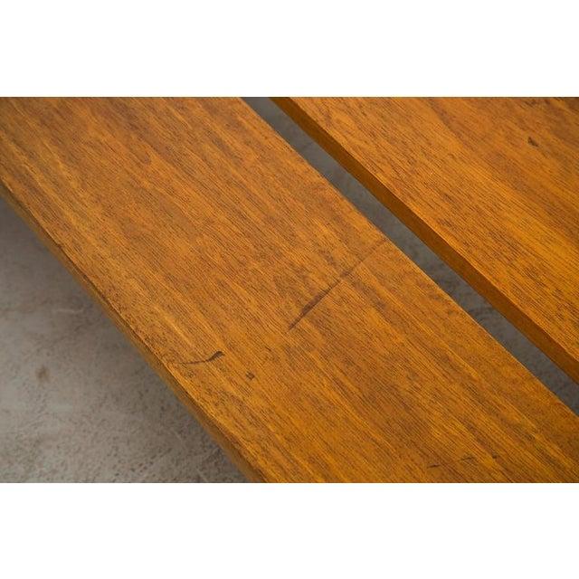 Image of Long Low Beechwood Bench @York Location