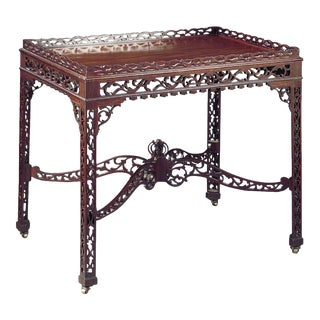 Chinese Chippendale Tea Table