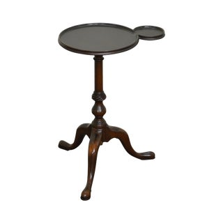 Kittinger Colonial Williamsburg Mahogany Kettle Stand