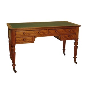 English Satinwood Desk