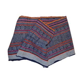 Hmong Indigo Batik Textile, Aprox, 3 Yds.