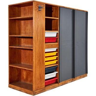 """""""Maison Du Brésil"""" Wardrobe / Room-Divider by Le Corbusier"""