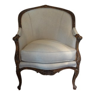 19th Century French Regency Style Gilt Wood Bergere